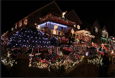 loudspeakers blast christmas carols christmas - Giant Christmas Hours